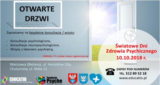 Światowy Dzień Zdrowia Psychicznego w PZP EDUCATIO